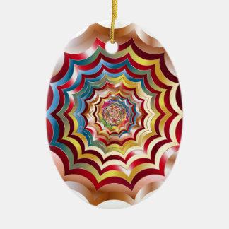 hypnotic da Web de aranha revitalized Ornamento De Cerâmica