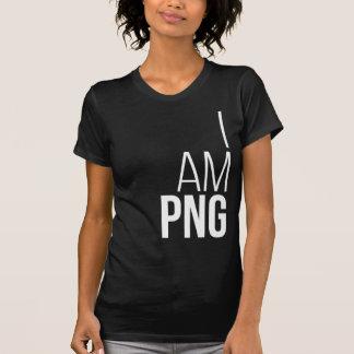 I Am PNG - Black Tshirts