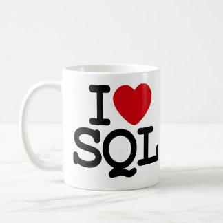 I_heart_SQL Caneca De Café