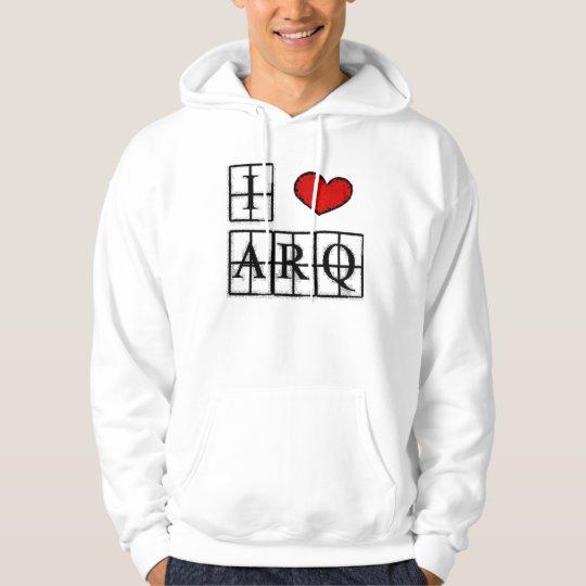 I love ARQ Moletom estampado