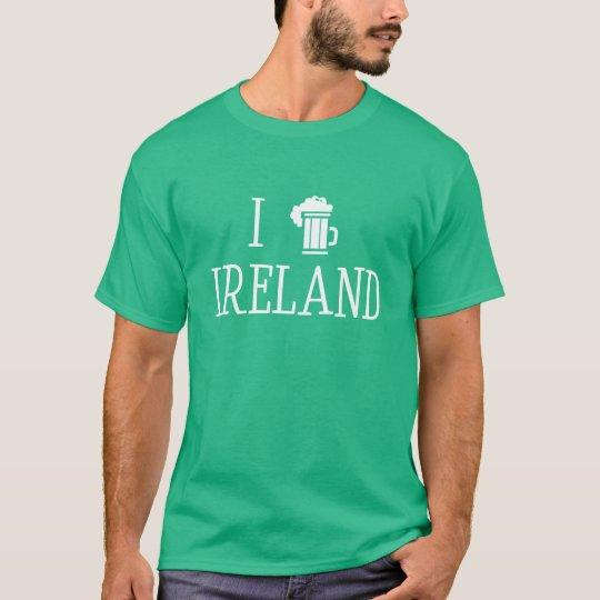 I Love Ireland Camiseta