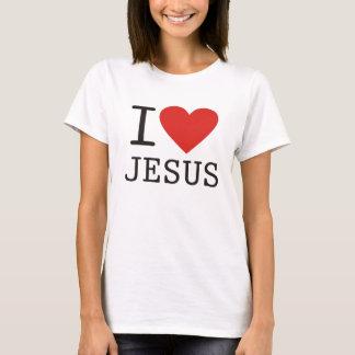 I Love Jesus Camiseta