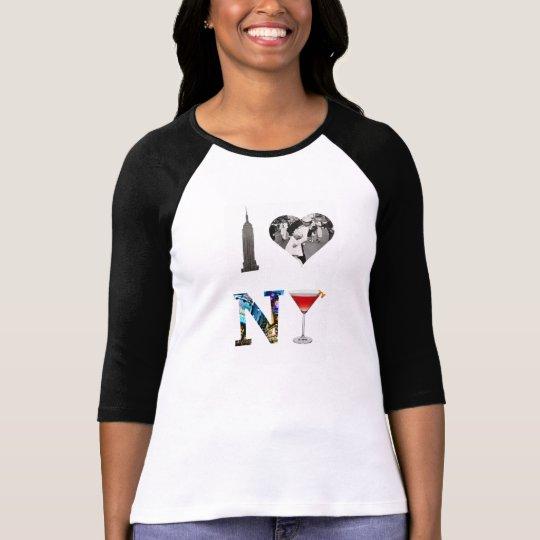 I Love New York Camiseta