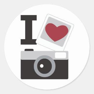I Love Photo Adesivo