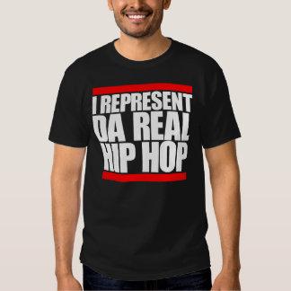 I represent IP real Hip Hop Camiseta
