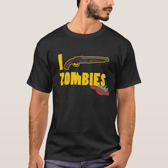 I Shoot Zombies Camiseta