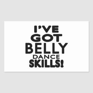 I ve obteve habilidades da dança do ventre adesivo