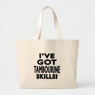 I ve obteve habilidades do pandeiro bolsas