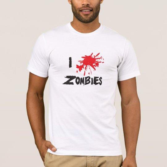 I ♥ Zombies Camiseta
