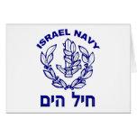 IAF & marinho de Israel Cartões