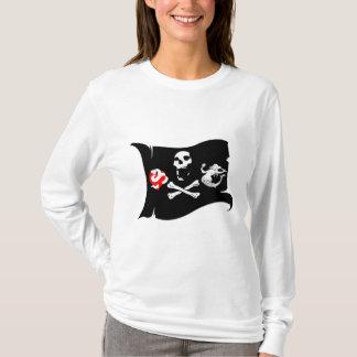 Ícone #12 do pirata camiseta