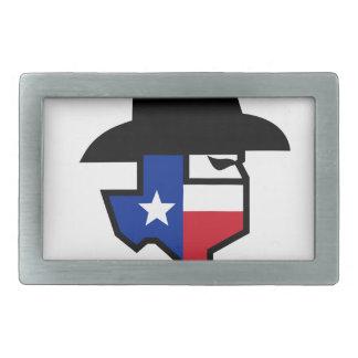 Ícone da bandeira de Texas do bandido