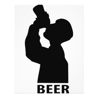 ícone da cerveja panfleto