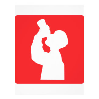 ícone da liga do álcool panfleto