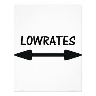 ícone da seta dos lowrates panfleto personalizados