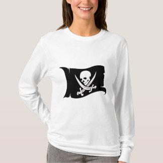 Ícone de ondulação #7 do Bandeira-Pirata Camiseta