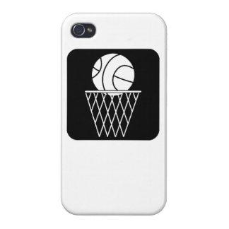 Ícone do basquetebol iPhone 4 capas