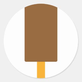 ícone do congelar-lolly adesivo