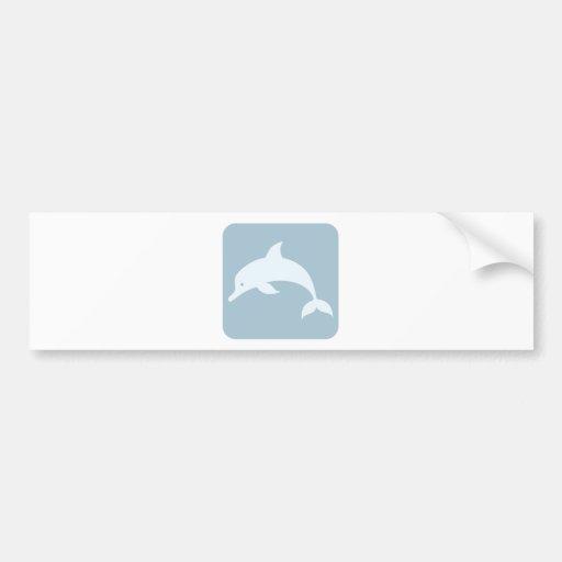 Ícone do golfinho de Bottlenose Adesivos