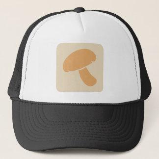 Ícone do vegetal do cogumelo boné