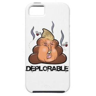 Ícone engraçado de Donald Trump - de Trumpy-Poo Capas Para iPhone 5