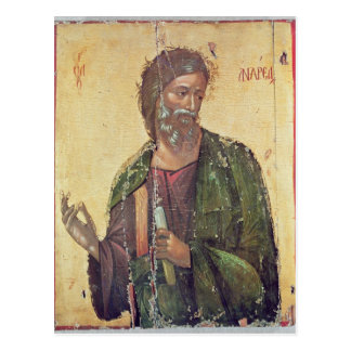 Ícone que descreve St Andrew Cartao Postal