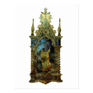 Ícone religioso da páscoa cartão postal