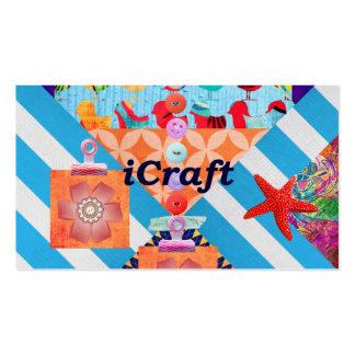 iCraft Scrapbooking e presentes do artesanato dos  Cartão De Visita