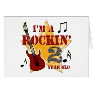Idade 2 de Rockin Cartão De Nota