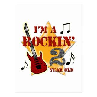 Idade 2 de Rockin Cartão Postal