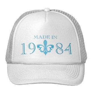 Idade autêntica da flor de lis feita no chapéu boné