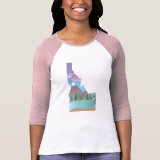 Idaho ilustrou a camisa