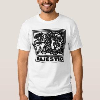 Ideal afortunado nutritivo da tranquilidade t-shirts