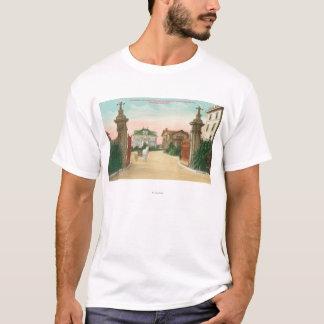 Ideia da entrada ao terraço de Presidio Camiseta