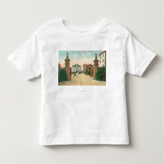 Ideia da entrada ao terraço de Presidio Tshirts