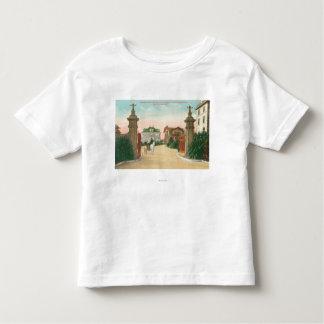 Ideia da entrada ao terraço de Presidio Camiseta Infantil
