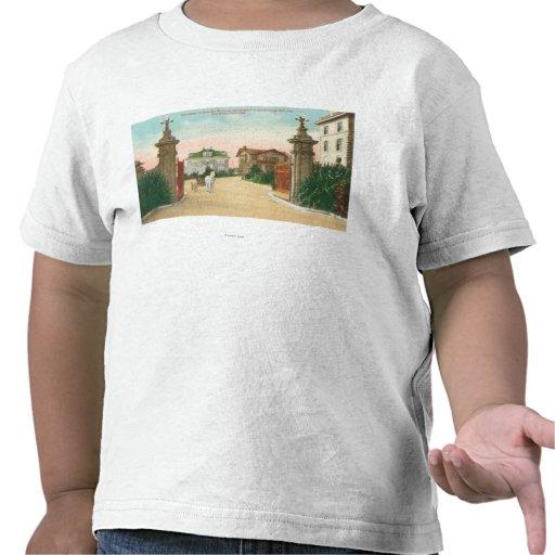 Ideia da entrada ao terraço de Presidio T-shirt