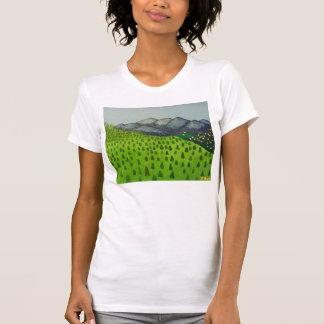 Ideia da pintura da camisa de Baldy da montagem T-shirts