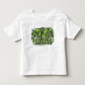 Ideia da vegetação em jardins botânicos de Bali, T-shirt