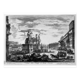 Ideia das etapas do espanhol por Giovanni Battista Cartão Postal