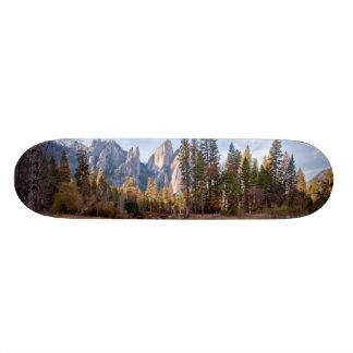 Ideia de picos da catedral shape de skate 20cm