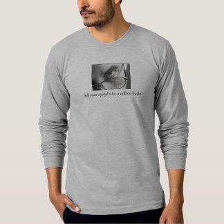 Ideia de testemunho cristã camisetas