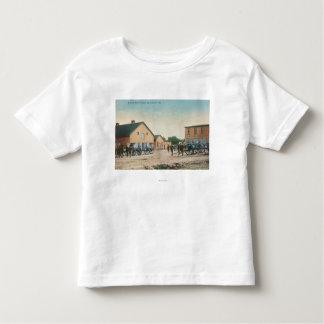 Ideia de uma broca de artilharia em Presidio Camiseta Infantil