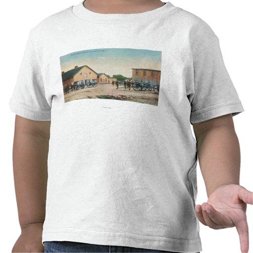 Ideia de uma broca de artilharia em Presidio Tshirt