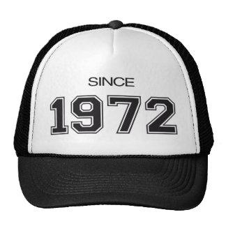 ideia do presente de aniversário 1972 bone
