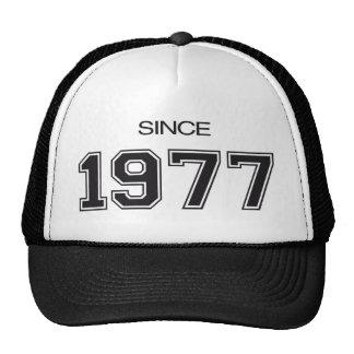 ideia do presente de aniversário 1977 boné