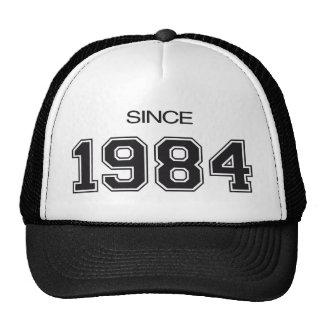 ideia do presente de aniversário 1984 bonés