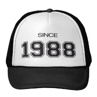 ideia do presente de aniversário 1988 boné