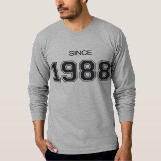 ideia do presente de aniversário 1988 camiseta