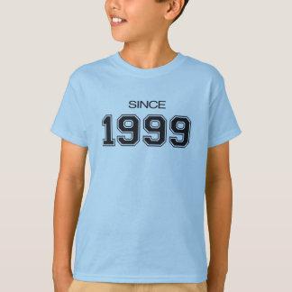 ideia do presente de aniversário 1999 camiseta